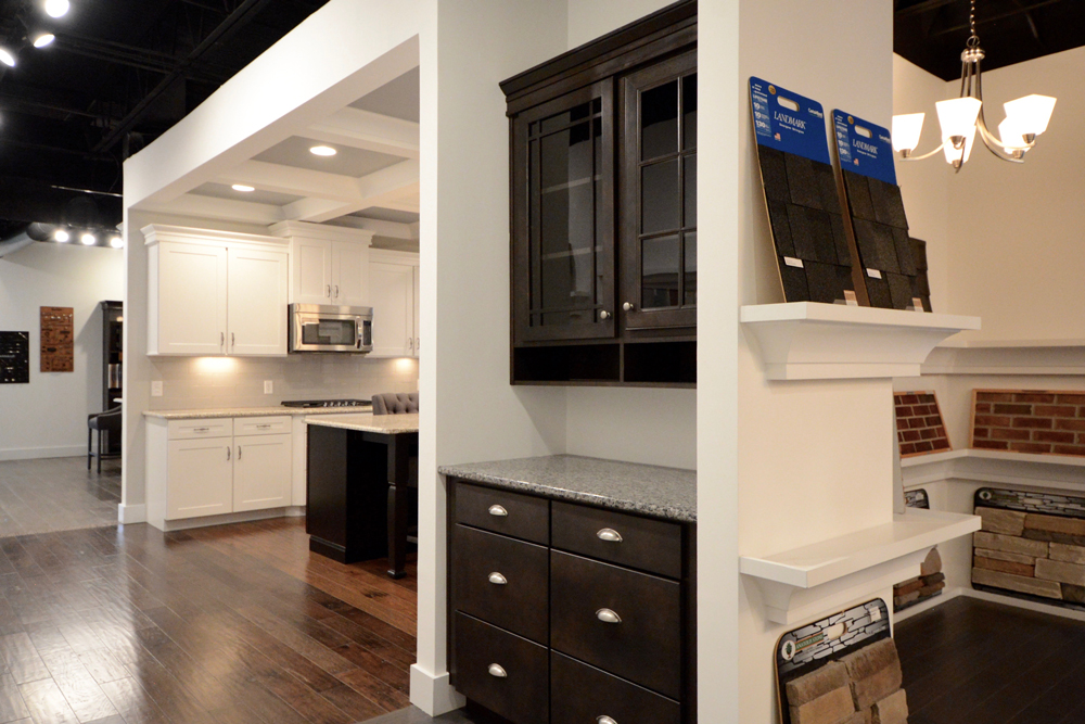 Cabinet Siding Colors in Dan Ryan's Design Center