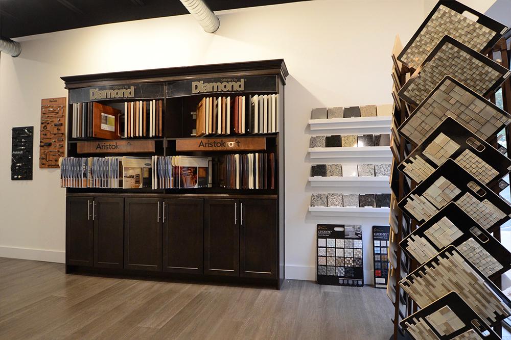 DRB new home upgrades in Design Center