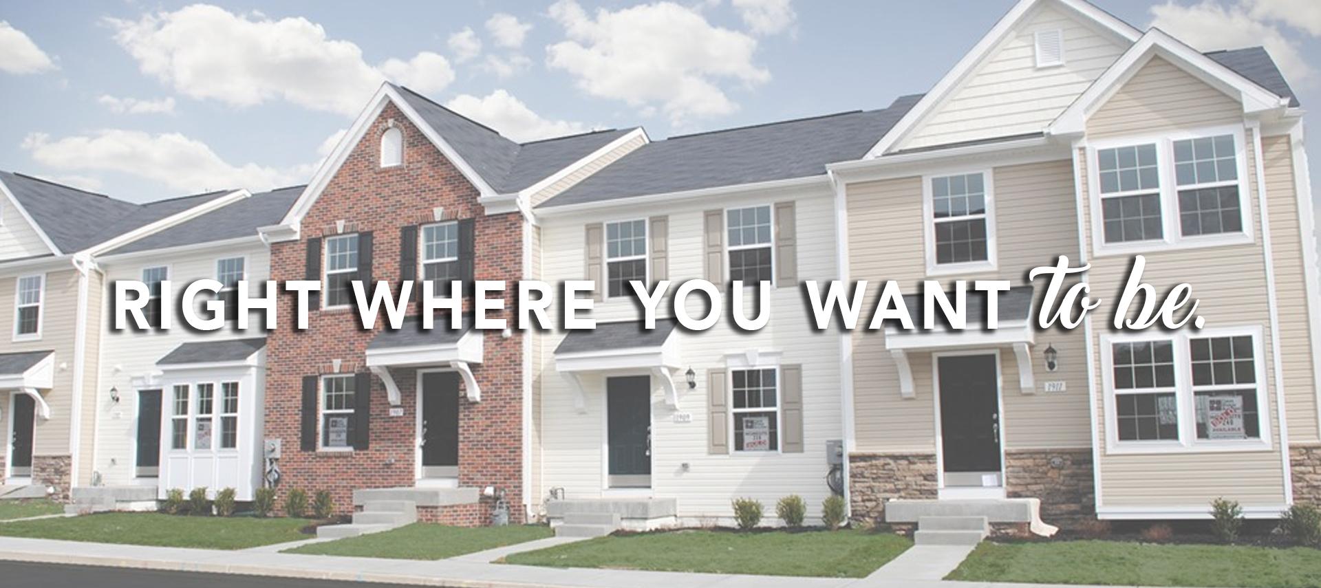 West Virginia New Home Builders | Dan Ryan Builders WV